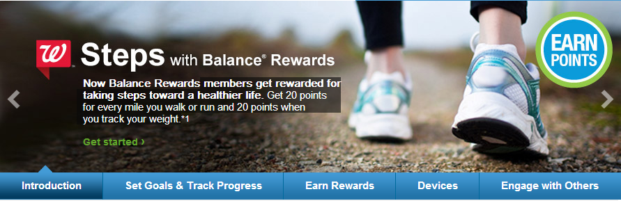 walgreens Balance Rewards example
